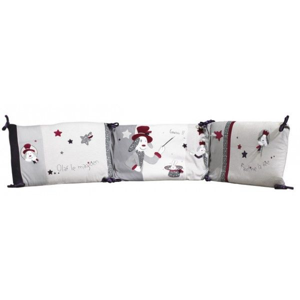 sauthon ctour de lit olaf et faustine. Black Bedroom Furniture Sets. Home Design Ideas