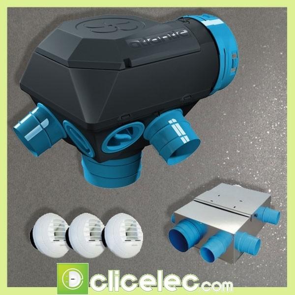 atlantic pack bouche hygroreglable 423117 catgorie climatiseur. Black Bedroom Furniture Sets. Home Design Ideas