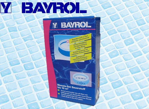Bayrol mini piscine facile 1 mois sans chlore 10 m3 for Traitement piscine sans chlore