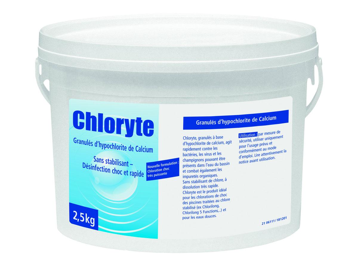 Bayrol chlore kg chloryte for Produit piscine bayrol