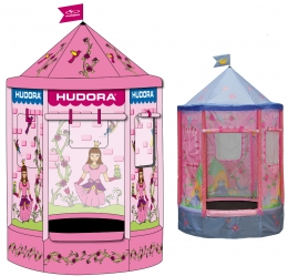 hudora c toy trampoline princess 140 cm. Black Bedroom Furniture Sets. Home Design Ideas