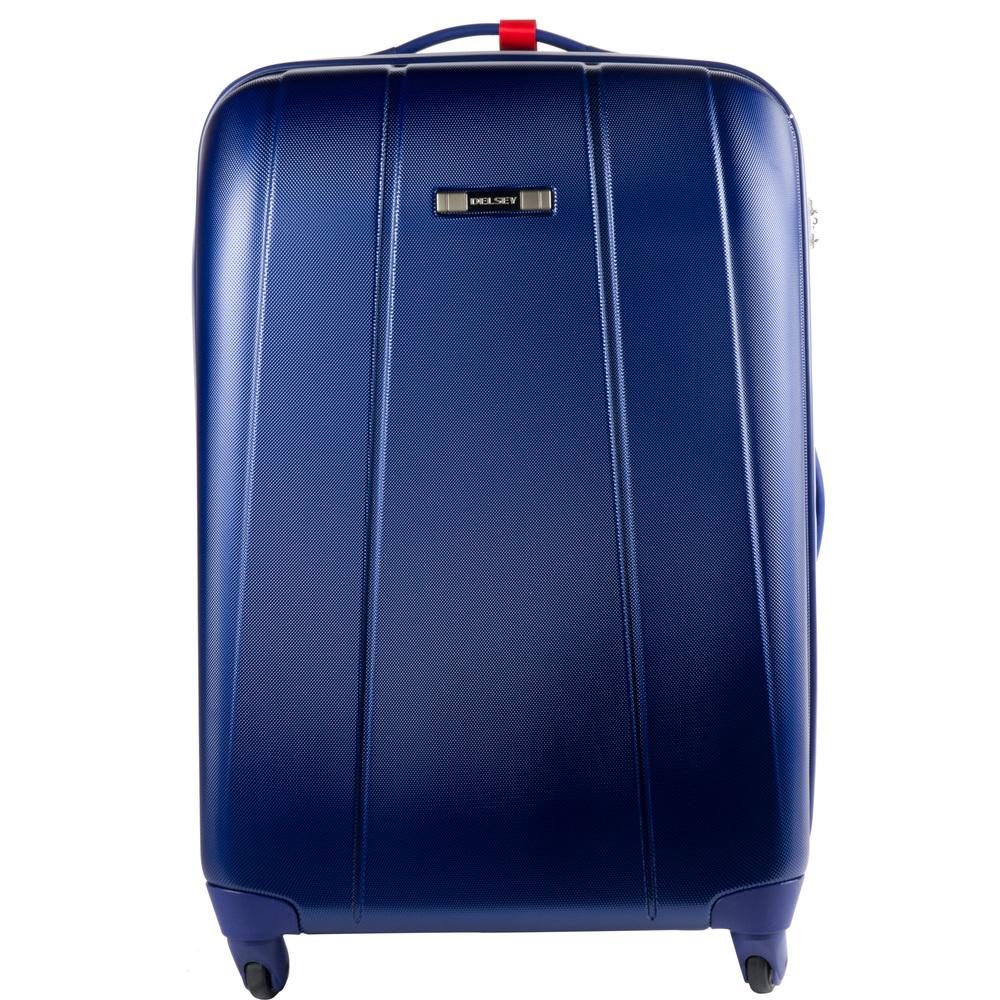 delsey valise reflect 72cm gris. Black Bedroom Furniture Sets. Home Design Ideas