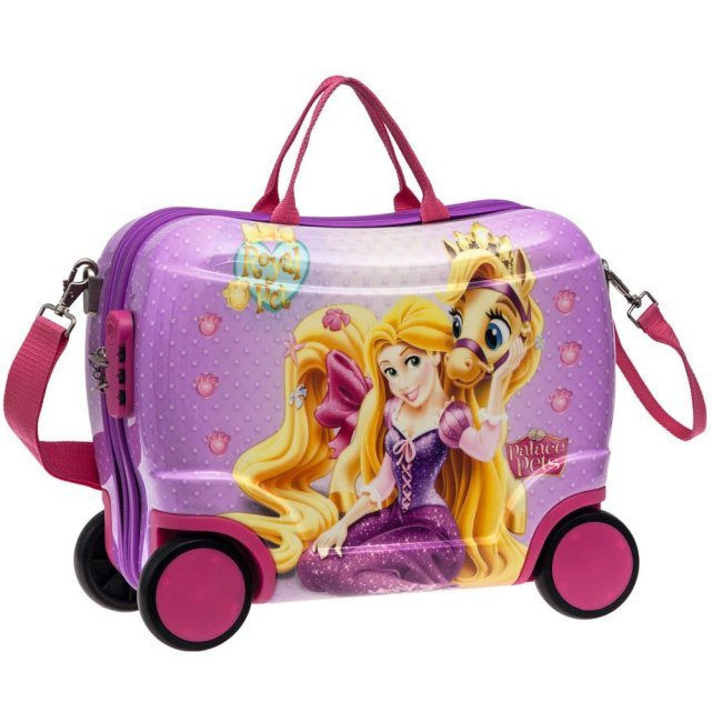 disney petite valise coque 4 roulettes raiponce. Black Bedroom Furniture Sets. Home Design Ideas