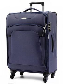 samsonite c valise new spark 67 cm 80 litres blue 50248. Black Bedroom Furniture Sets. Home Design Ideas