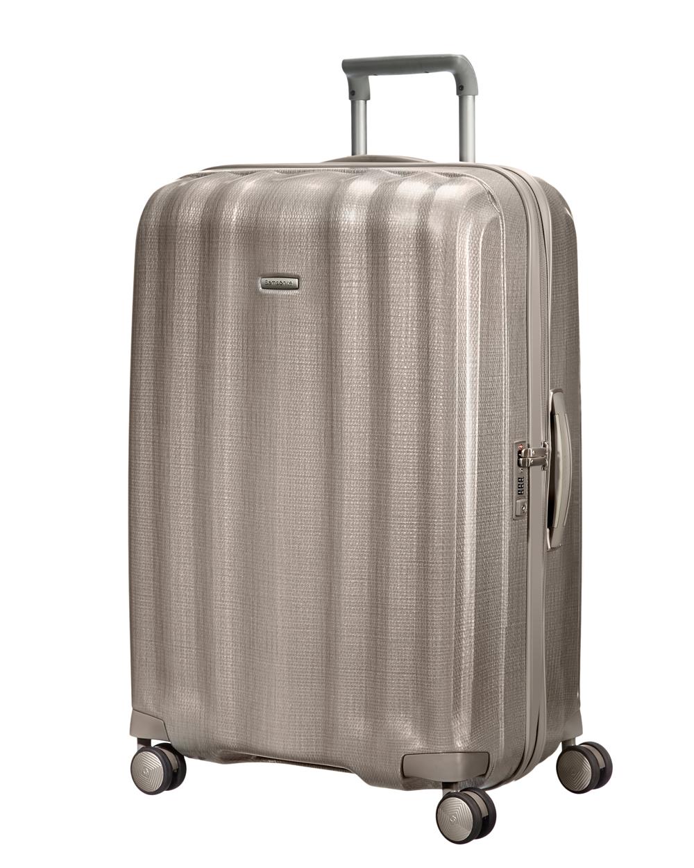 samsonite grande valise rigide lite cube 82 cm spinner curv. Black Bedroom Furniture Sets. Home Design Ideas