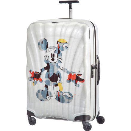 samsonite valise rigide cosmolite spinner 75 cm mickey art. Black Bedroom Furniture Sets. Home Design Ideas