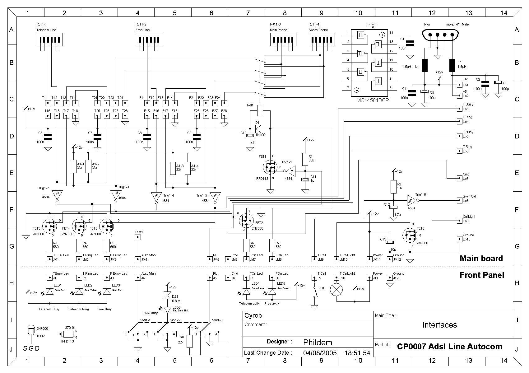 Montages lectroniques - Comment detecter une panne electrique ...