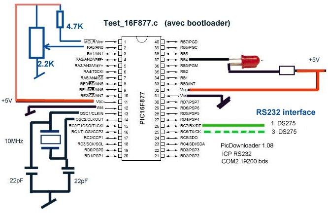 montages de la catégorie: Microcontrolleurs - Microchip