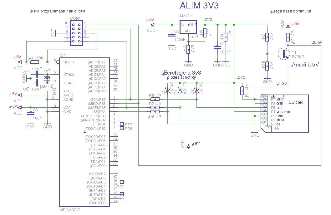 montages de la cat u00e9gorie  microcontrolleurs