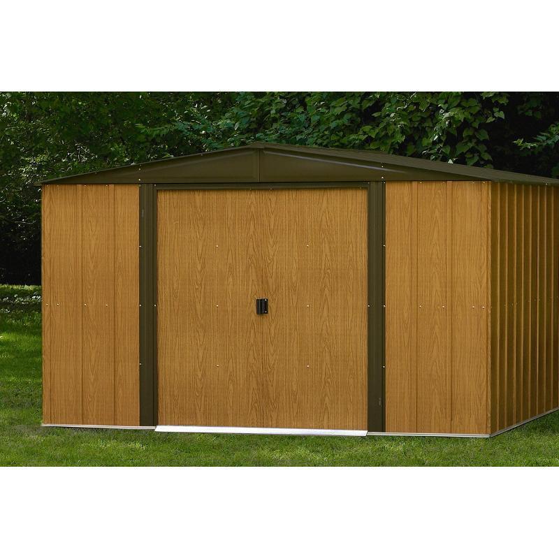 Abri de jardin en acier photos de conception de maison for Conception abri jardin