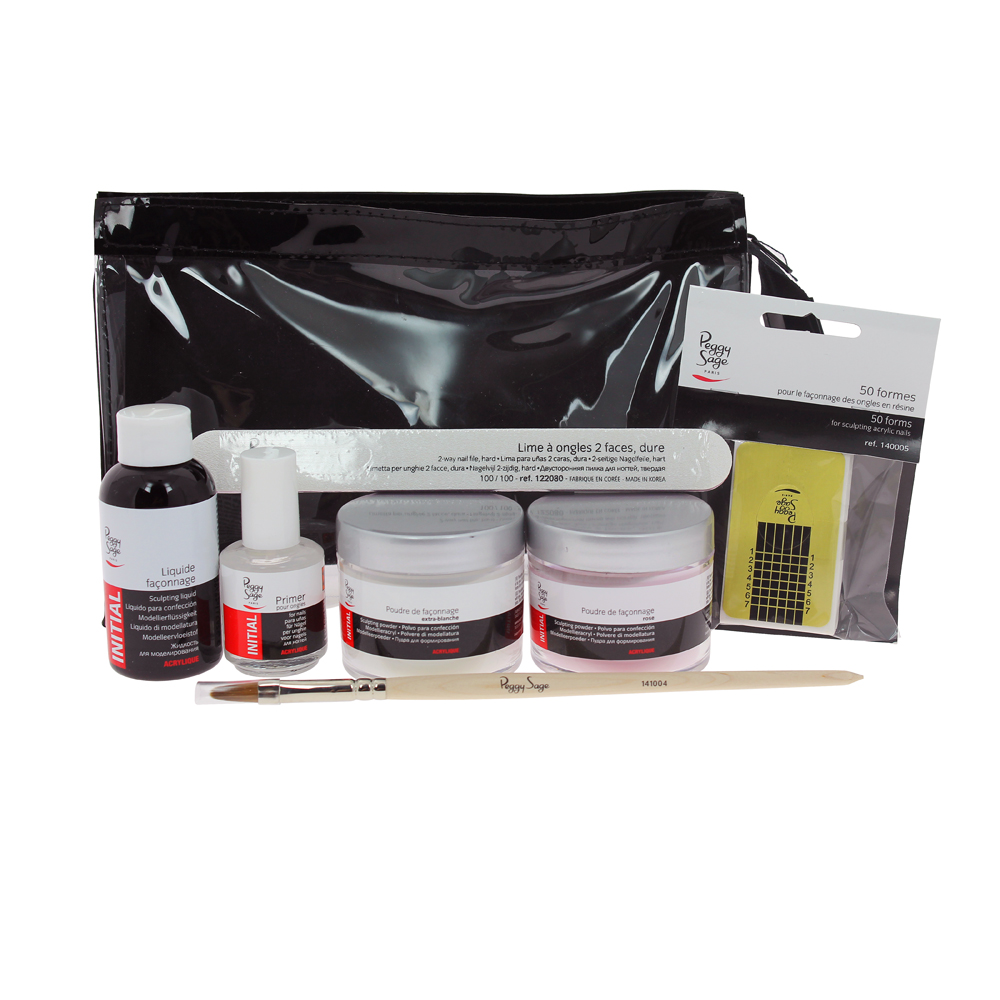 kit ongles resine peggy sage
