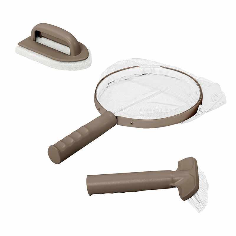 intex bche beige pour spa gonflable octogonal bulles catgorie accessoire pour spa et jacuzzi. Black Bedroom Furniture Sets. Home Design Ideas