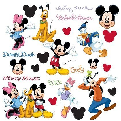 Disney stickers mickey mouse et ses amis - Mickey mouse et ses amis ...