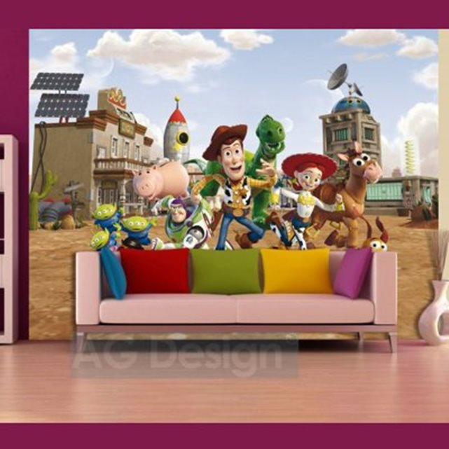 toy papier peint xxl story disney 360 x 270 cm. Black Bedroom Furniture Sets. Home Design Ideas