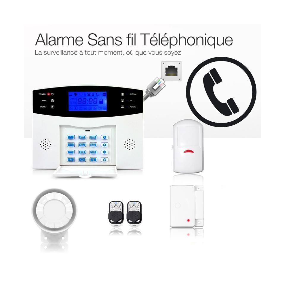 Catgorie alarme de maison du guide et comparateur d 39 achat for Achat de maison sans mise de fond