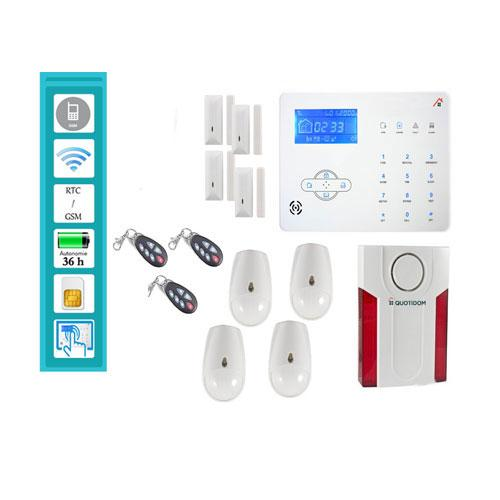 Alarme de maison alarme maison video alarme maison sans for Alarme filaire maison