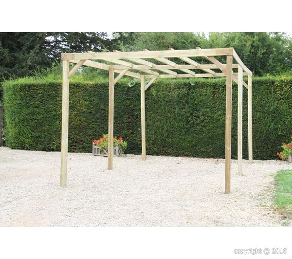 Catgorie barnums pergola et tonnelle du guide et for Amenagement jardin 15m2