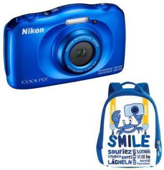 Appareil photo compact nikon coolpix w100 jaune sac dos - Boulanger appareil photo numerique ...