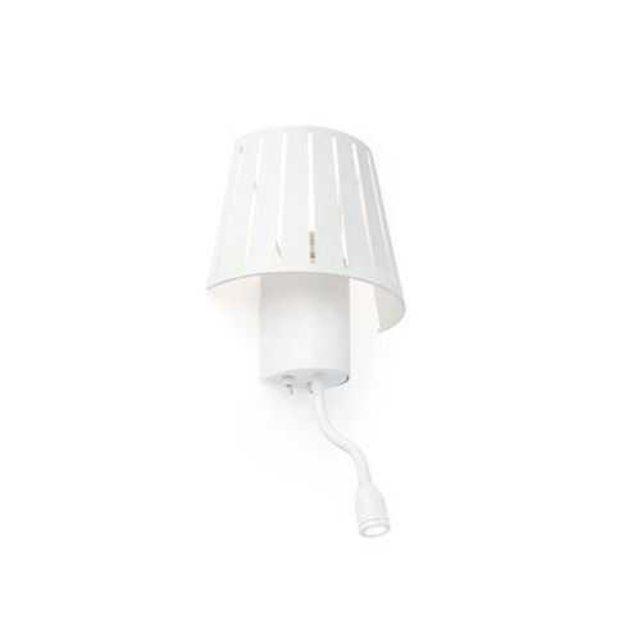 faro c applique liseuse blanche 60w mix. Black Bedroom Furniture Sets. Home Design Ideas