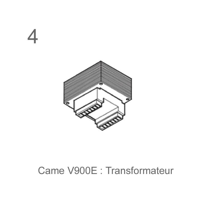 Came kit v900e motorisation porte de garage - Motorisation porte de garage came ...