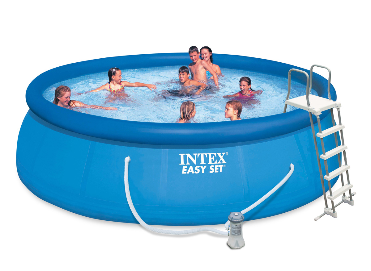 Intex liner pour piscine metal frame tubulaire ronde for Liner piscine intex