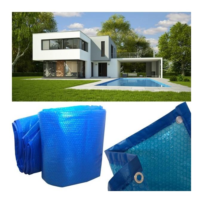 probache b che bulles solaire chauffante pour piscine 8x14m couverture thermique. Black Bedroom Furniture Sets. Home Design Ideas