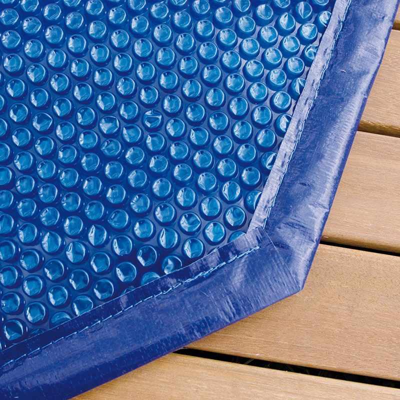 Ubbink cbche bulles pour piscine bois octogonale allo for Pose liner piscine bois octogonale