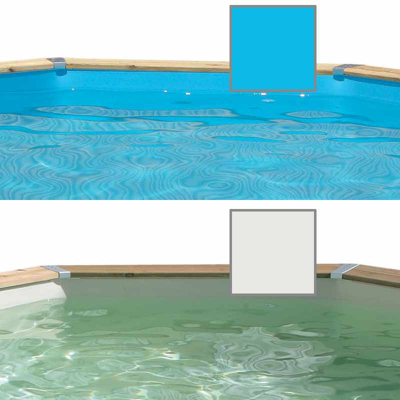 Ubbink cliner pour piscine bois octogonale allong e colo for Couverture piscine bois