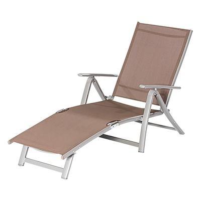 Catgorie bain de soleil page 5 du guide et comparateur d 39 achat for Chaise longue jardin aluminium