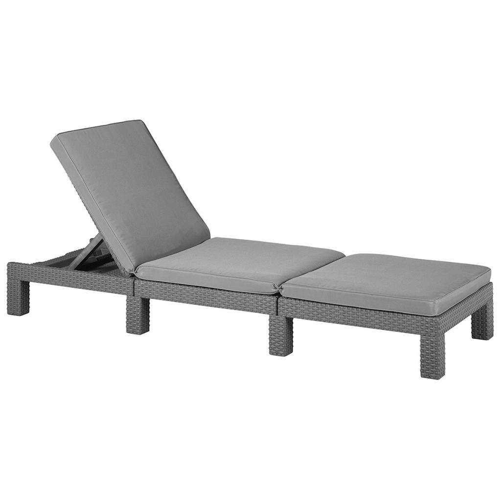 allibert c bain de soleil graphite daytona 213720. Black Bedroom Furniture Sets. Home Design Ideas