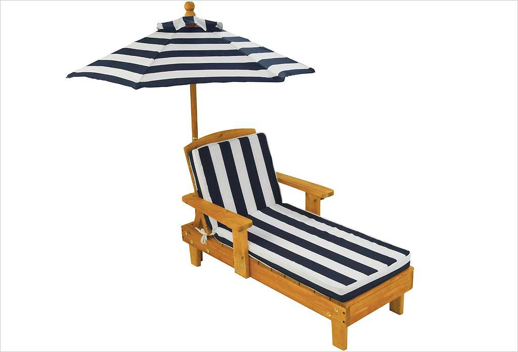 kidkraft cchaise longue en bois enfant. Black Bedroom Furniture Sets. Home Design Ideas