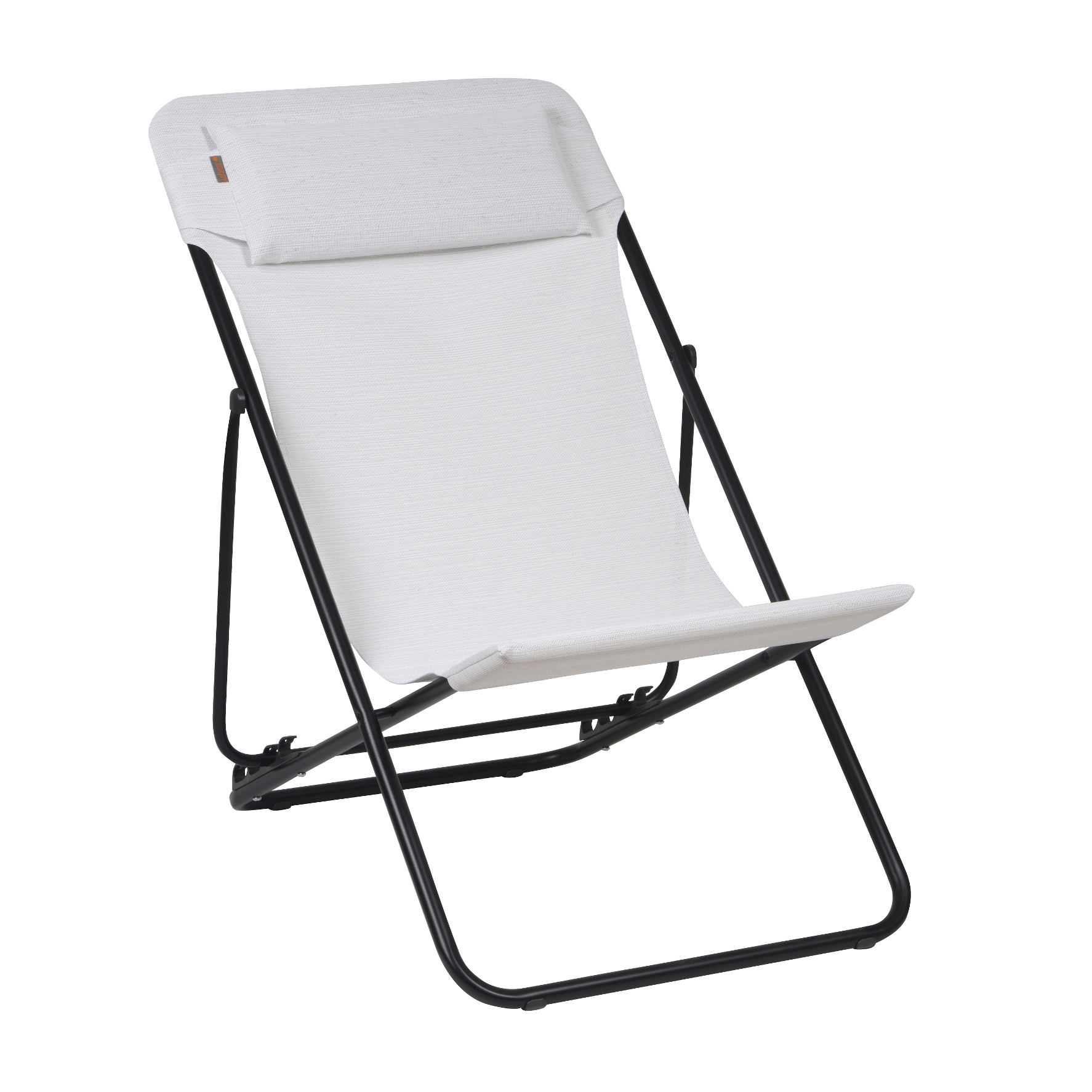 Lafuma c maxi transat plus chaise pliante natural batylin for Chaise de camping lafuma