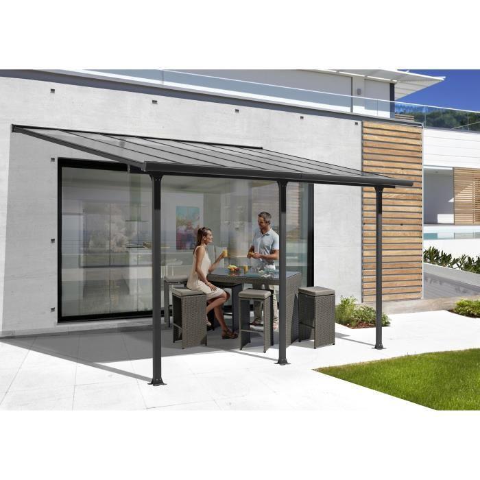 Catgorie barnums pergola et tonnelle du guide et comparateur d 39 achat - Pergola aluminium toit polycarbonate ...