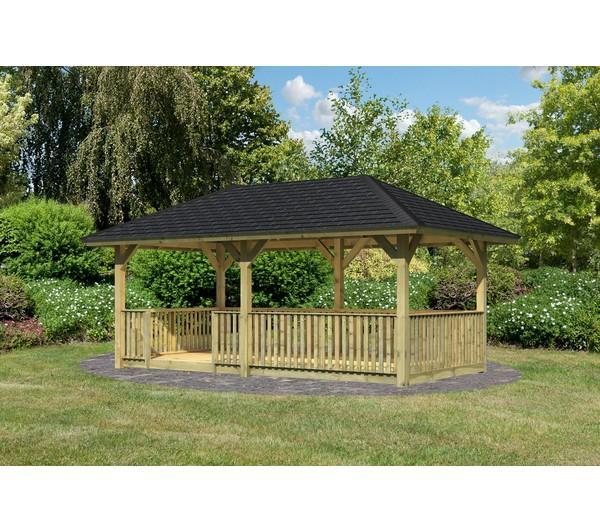 Pergola Kiosque Jardin Ecosia