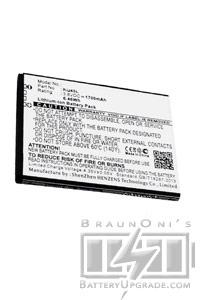kazam thunder 2 4 5l batterie 1700 mah. Black Bedroom Furniture Sets. Home Design Ideas