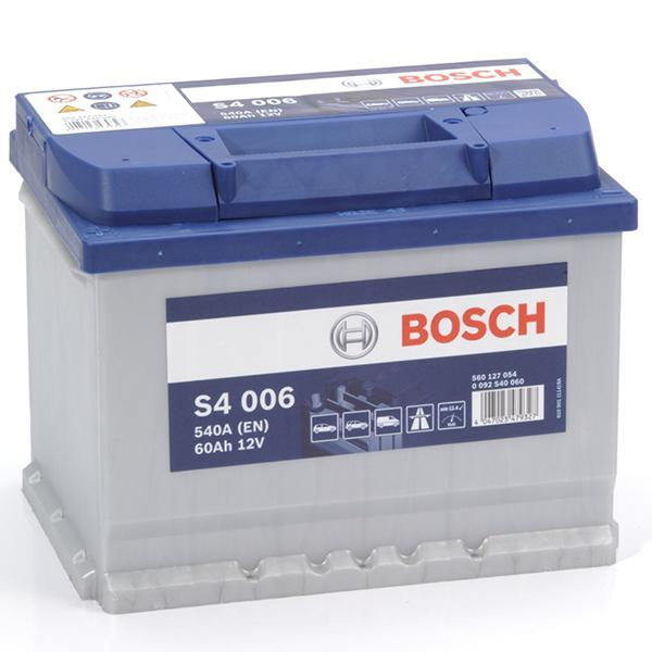 batterie voiture bosch bosch batterie s4005 540a 60ah achat vente batterie bosch batterie. Black Bedroom Furniture Sets. Home Design Ideas