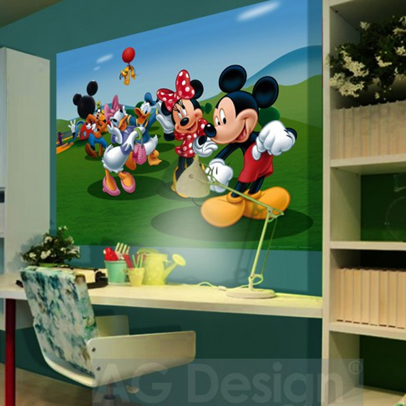 Disney cposter xxl la maison de mickey for Decoration maison mickey