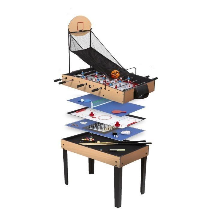 Catgorie billards du guide et comparateur d 39 achat - Table multi jeux enfant ...