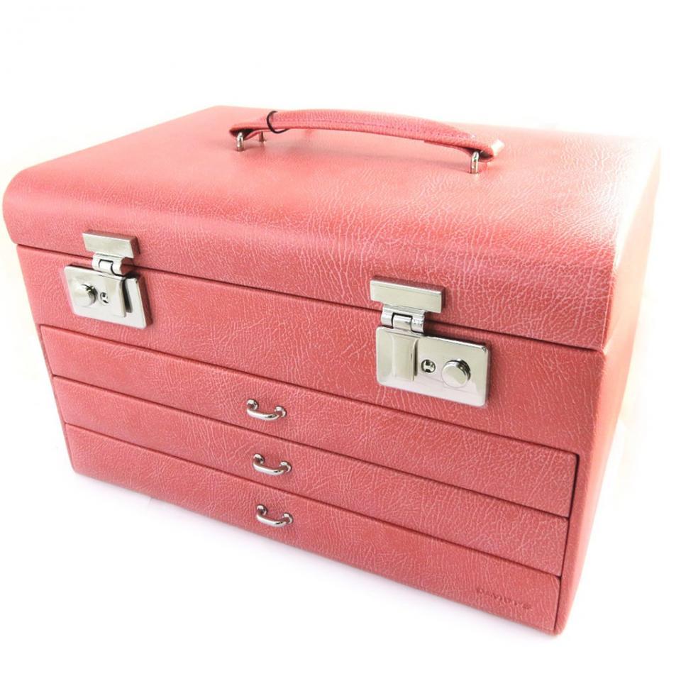Coffret à Bijoux La Diva rose