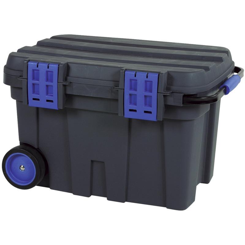 raaco coffre de chantier mobile toolchest 75 715706. Black Bedroom Furniture Sets. Home Design Ideas