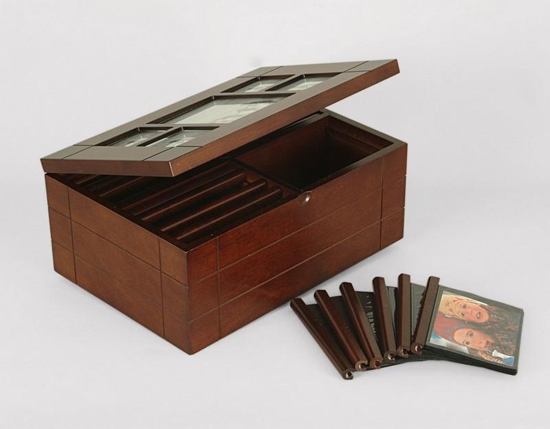 Emde Boîte Photo pour 400 photos 10x15 - Dimensions 27
