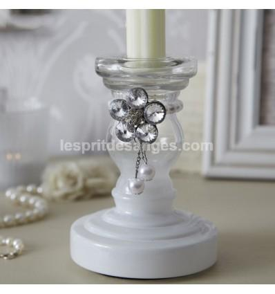 Catgorie bougeoir du guide et comparateur d 39 achat for Bougeoir shabby chic