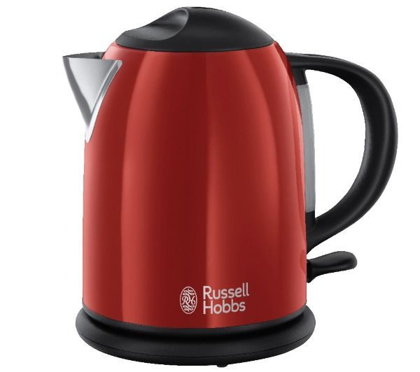 Bouilloire russell hobbs compacte rouge flamboyant 20191 70 - Bouilloire electrique russell hobbs ...