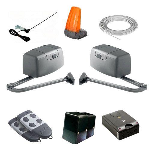 cardin cmotorisation portail 2 battants kit 205 bl1924ps. Black Bedroom Furniture Sets. Home Design Ideas