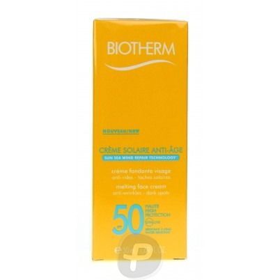 biotherm solaire cr me anti ge spf50 50ml. Black Bedroom Furniture Sets. Home Design Ideas