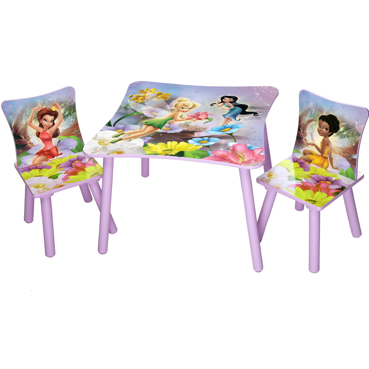 disney ensemble table et chaises f e clochette delta. Black Bedroom Furniture Sets. Home Design Ideas