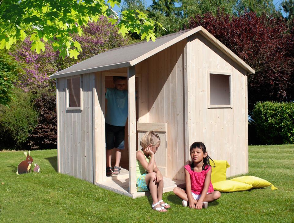 Catgorie cabanes pour enfants page 2 du guide et for Cabane exterieur bois