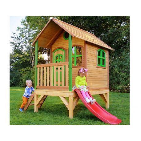 Axi C Maison De Jeu Tom En Bois Pour Enfants Catgorie Cabanes Pour Enfants