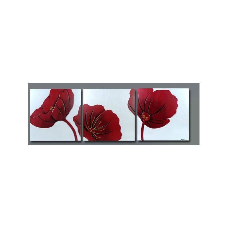 cadre peinture fleur id e inspirante pour. Black Bedroom Furniture Sets. Home Design Ideas