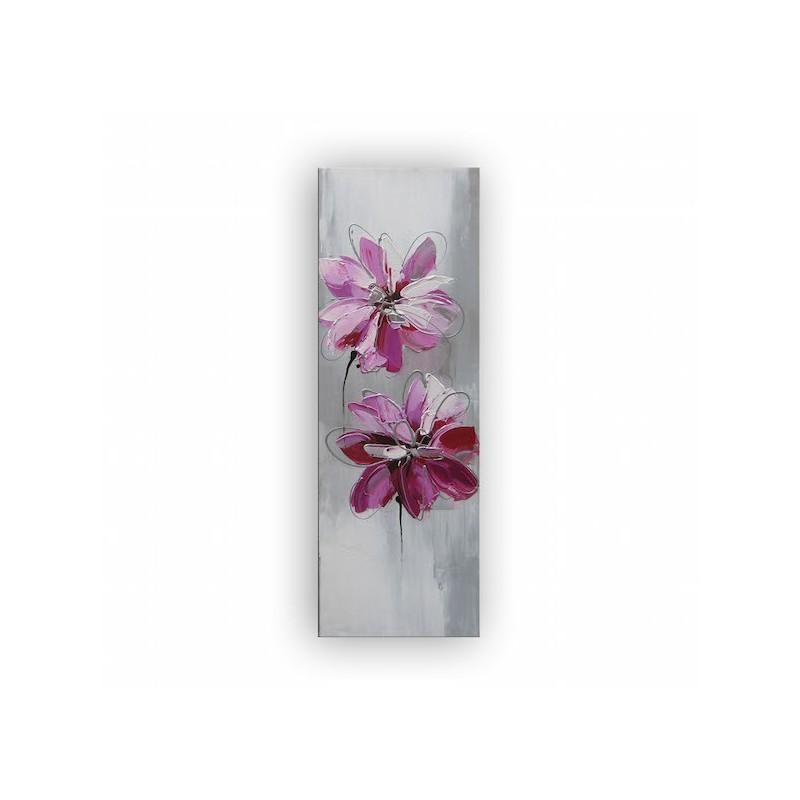 Cadre peinture fleur id e inspirante pour for Deco murale pas cher